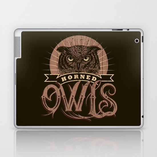 Team Owl Laptop & iPad Skin