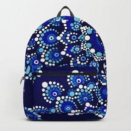 Greek Eye Backpack