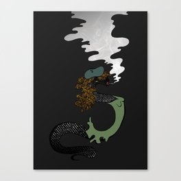Scorching Scales Canvas Print