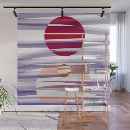 Abstract transparencies Wall Mural