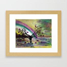Love Blossoms Framed Art Print