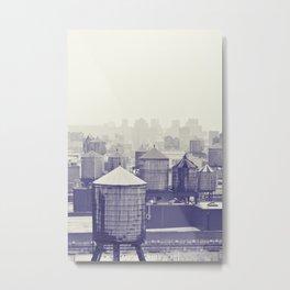 foggy memories of nyc... Metal Print
