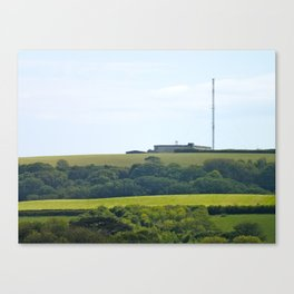 Salcombe's Nuclear Bunker Canvas Print