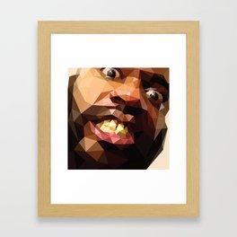 MC Ride Framed Art Print