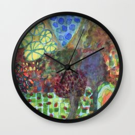 The Egg in the Magic Forest Wall Clock