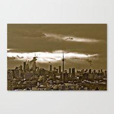 TORONTO CITY Canvas Print