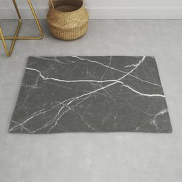 Gray marble abstract texture pattern Rug