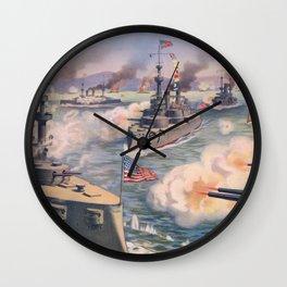 Cuban coast Wall Clock