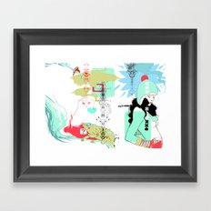 Funky s*!t Framed Art Print