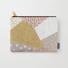 Abstract geometric shapes Carry-All Pouch