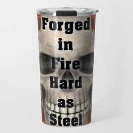 Forged in Fire Skull Travel Mug