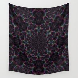 Branching Rainbow Fractal Kaleidoscope 2 Wall Tapestry