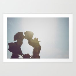 Kisses and Gifts Art Print