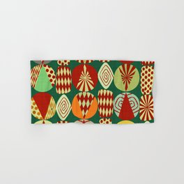 Christmas tree Minimalist green Hand & Bath Towel