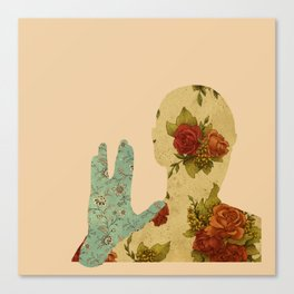 Roses and Logic Canvas Print