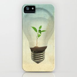 green ideas iPhone Case