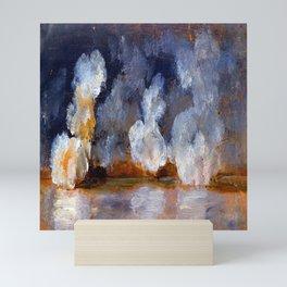Johan Christian Dahl Smoke from Cannon Shots Mini Art Print