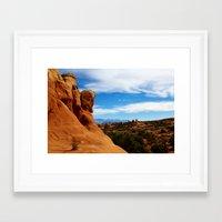 utah Framed Art Prints featuring Utah! by Claudio Del Luongo