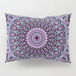 Blackberry Bliss - Mandala Art Pillow Sham