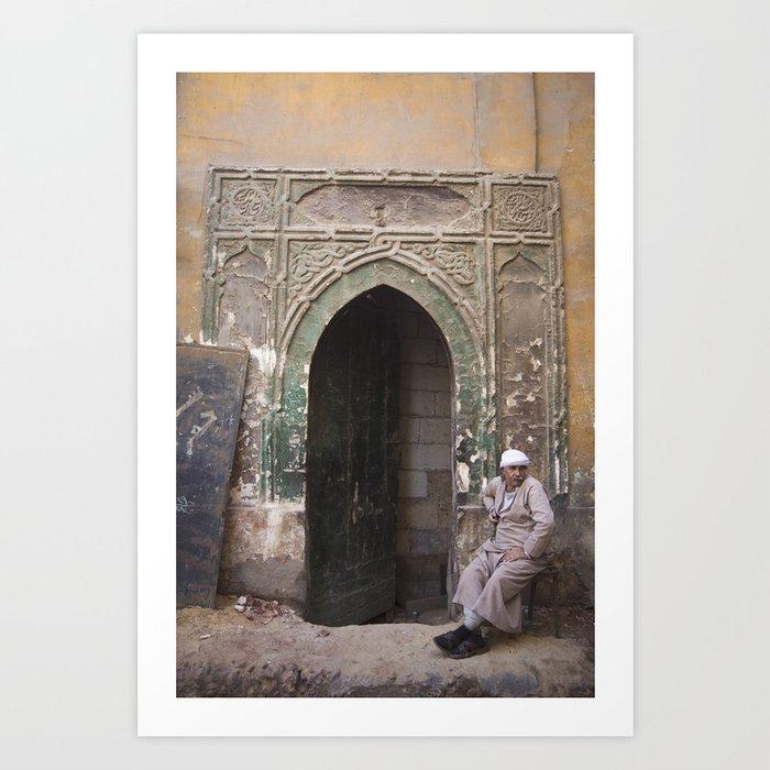 Mamluk Doorway Art Print
