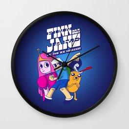 FJ vs IK Wall Clock
