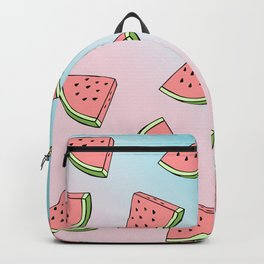 Summer colorful watermelon pattern Backpack