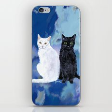 Kingston and Midnight iPhone & iPod Skin