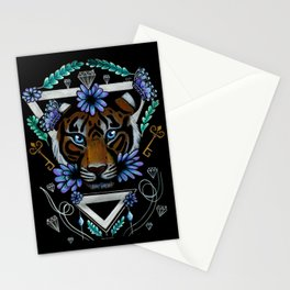 Powerful Tiger  Stationery Cards