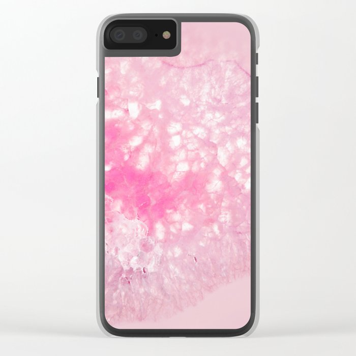 Pink Ice Clear iPhone Case
