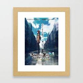 Steins;Gate film poster Framed Art Print