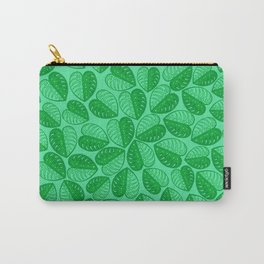 Monstera Leaf 2d Graphic Pattern Carry-All Pouch
