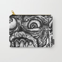 GROATY DUDE - B&W Carry-All Pouch