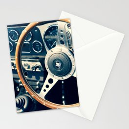 Old Triumph Wheel / Classic Cars Photography Stationery Cards