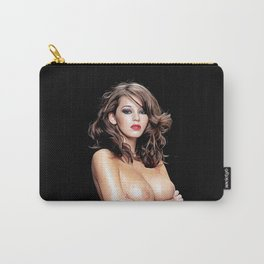 Keely Hazell - Celebrity Nude Art Carry-All Pouch