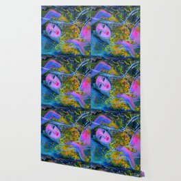 RUSALKA #society6 #decor #buyart Wallpaper