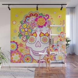 Sugar Skull Art (Felicity) Wall Mural