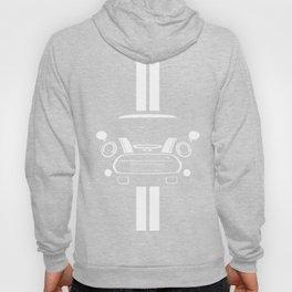 Mini Cooper T Shirt (Black/White stripes) Hoody