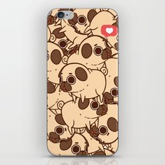 Puglie Heart iPhone & iPod Skin