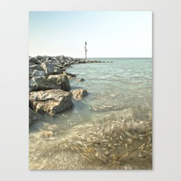 One Summer at Meols Canvas Print