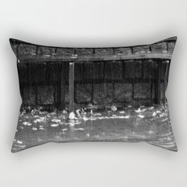 Raining cats and dogs Rectangular Pillow