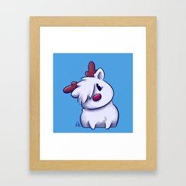 Meet Woof Framed Art Print