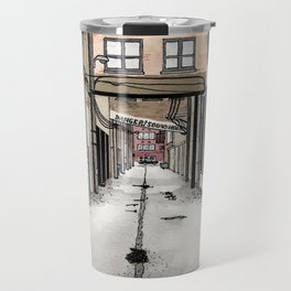 Alley in Ravenswood, Chicago Travel Mug