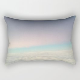 Over the clouds Rectangular Pillow