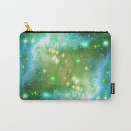 Tiny Lens Textured Nebula Carry-All Pouch