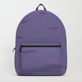 Waves / Tiger (stylized pattern) 33 Backpack