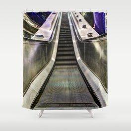 Stairway To London Shower Curtain