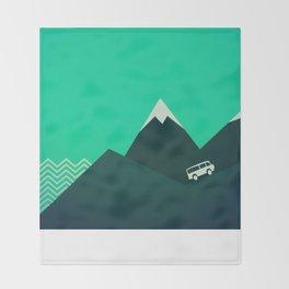 Travel! Throw Blanket