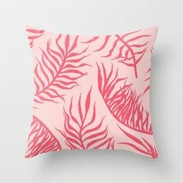 Summer Foliage Throw Pillow