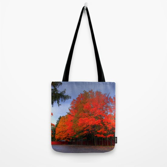 Falling for Red Tote Bag