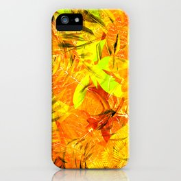 Autumn Foliage iPhone Case